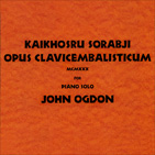Cd cover image Opus Clavicembalisticum