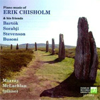 Cd cover image Piano music of Erik Chisholm and friends