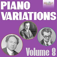 Cd cover image Piano Variations vol.8